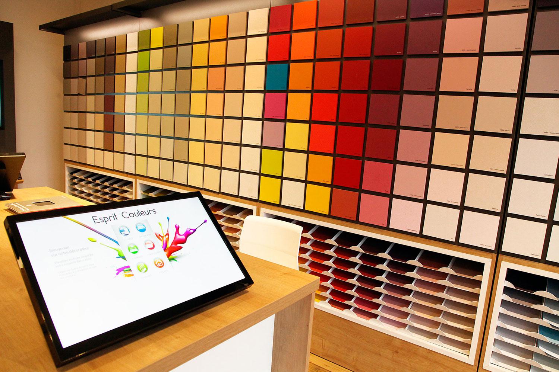 Peinture Couleur Terre Cuite challande & fils | matériaux de construction | nyon - vaud