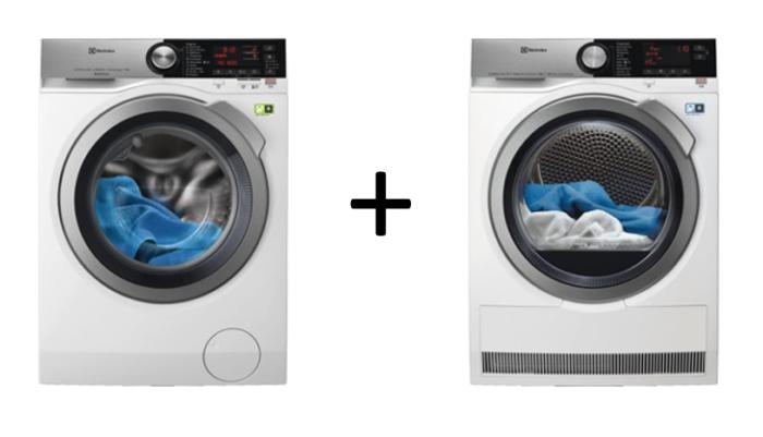 Lave-linge + Sèche linge Electrolux TWSL4IE300
