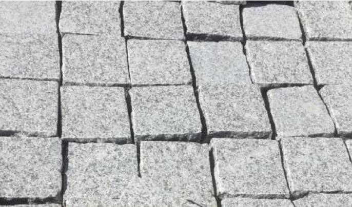 Pavé Granit Grigio Cenere