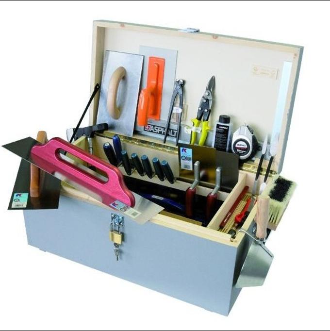 Caisse à outils plâtrier