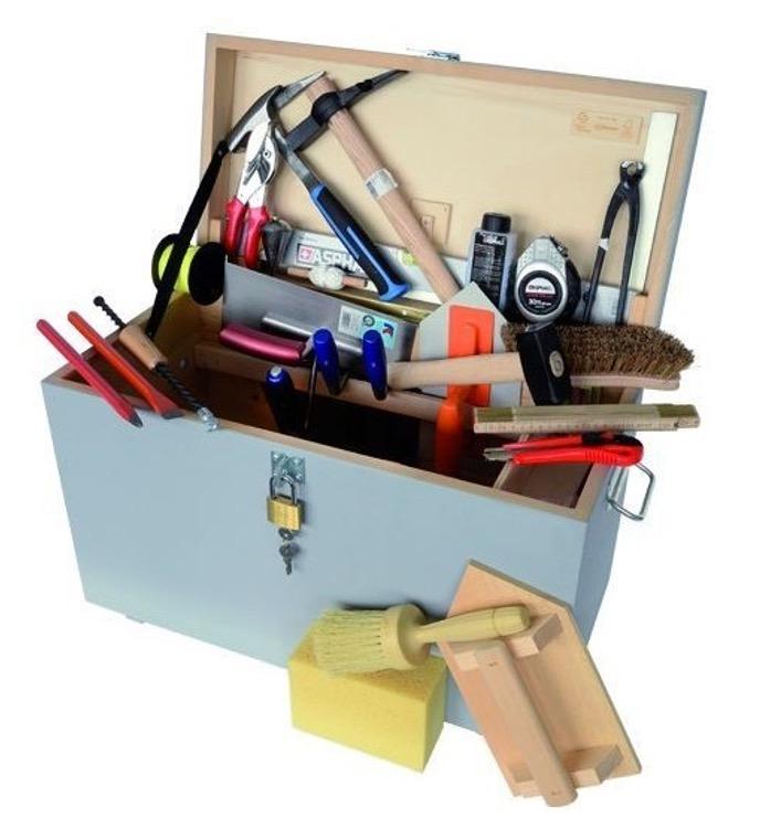 Caisse à outils maçon